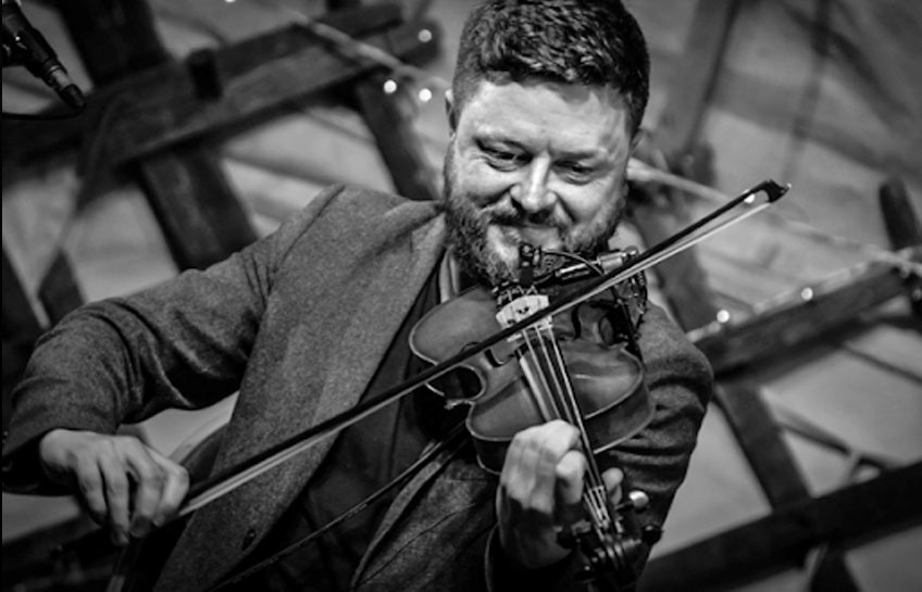 Dónal O'Connor at the Jim Dowling Uilleann Pipe and Trad Festival