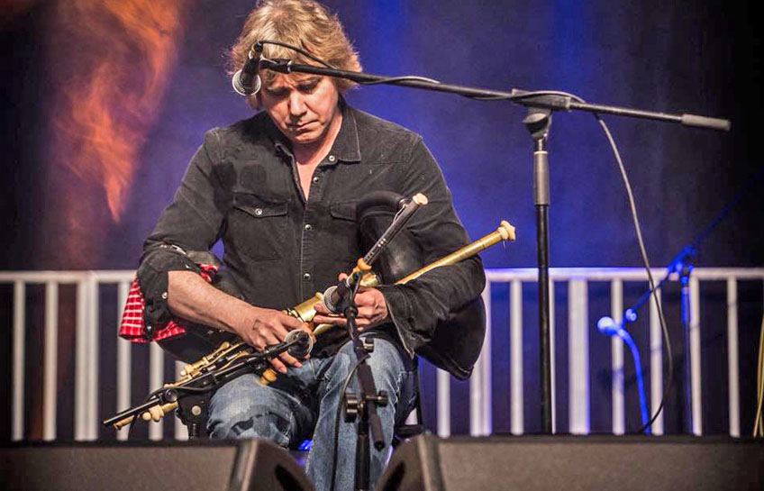 John McSherry at the Jim Dowling Uilleann Pipe and Trad Festival