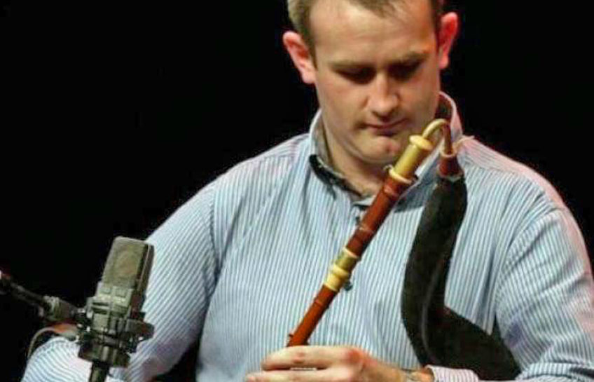 Padraig McGovern at the Jim Dowling Uilleann Pipe and Trad Festival